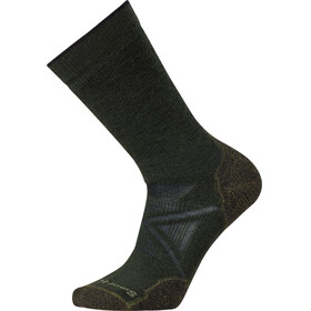 Smartwool PhD Outdoor Medium Crew - Calcetines - Oliva